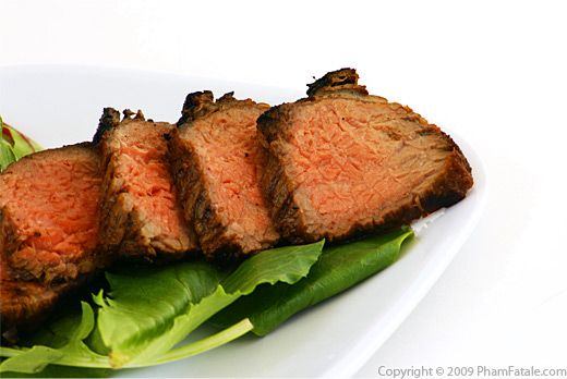 Grilled Beef Recipe with Picture