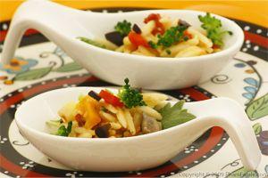 Vegetarian Orzo Pasta Salad