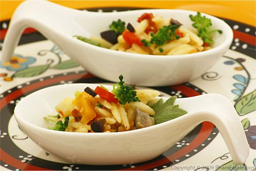 Vegetarian Orzo Pasta Salad Recipe