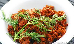 Homemade Vegetarian Soy Chorizo