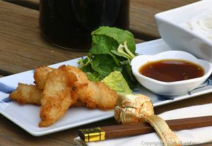 Pan Fried Catfish Fillets (Bun Ca Chien)