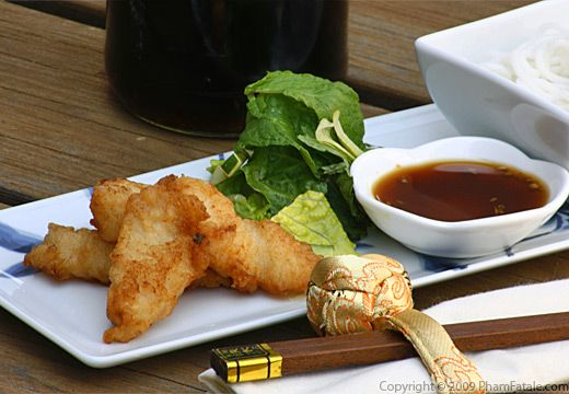 Pan Fried Catfish Fillets (Bun Ca Chien) Recipe