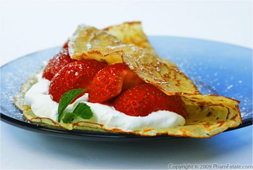 French Crepe Recipe with Picture