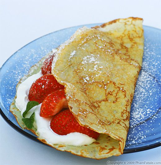 Easy Recipe For Chocolate Crepes