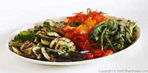 Tarragon-flavored Grilled Vegetable Party Platter