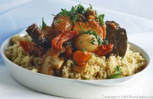 Vegetarian Tajine