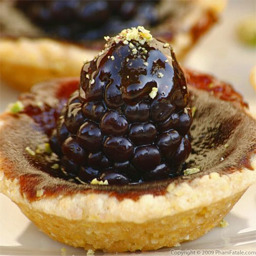 blackberry tartlette