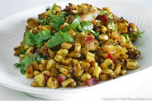 Ginger and Cilantro Sweet Corn Salad