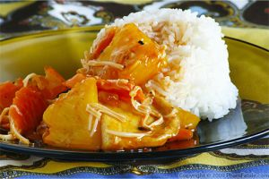 Vegetarian Sweet and Sour Pork