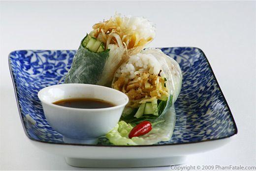 Bi Cuon Chay (Vietnamese Vegetarian Spring Rolls) Recipe