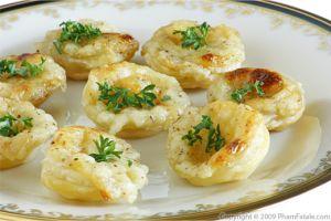 Saffron cauliflower gratin gratin de chou fleur au safran for Canape shells