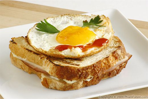 Croque Madame Recipe with Picture
