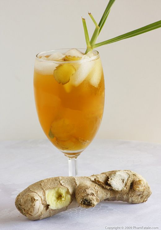 Ginger Lemongrass Drink Recipe