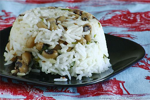 Black Eyed Pea Rice Recipe