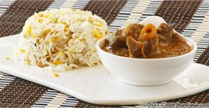 Goat Korma (Spicy Curried Braised Goat Meat)