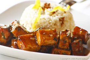 Orange Tofu Recipe with Picture