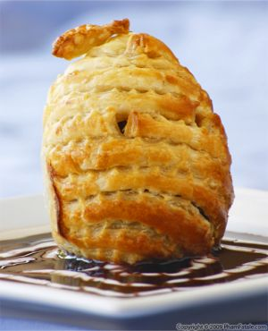 Poached Figs in Puff Pastry