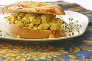Scrambled Tofu (An Amazing Egg Substitute)