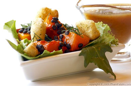 Butternut Squash Salad Recipe with Picture