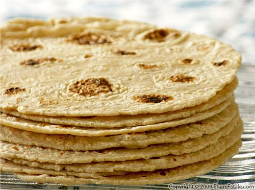 Home-Made Corn and Whole Wheat Flour Tortilla Recipe
