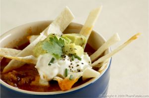 Vegetarian Tortilla Soup Recipe