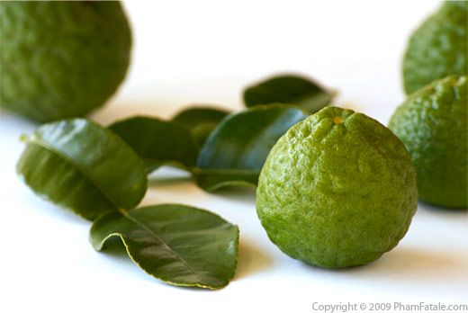 Kaffir lime Leaves with Picture