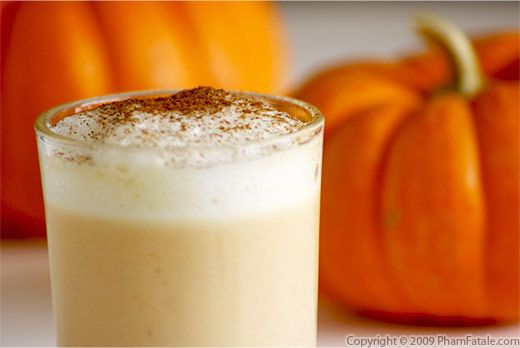 Pumpkin Spice Latte Recipe with Picture