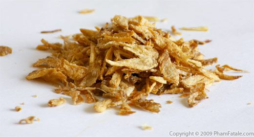 dried fried shallots