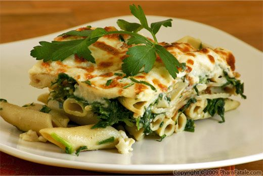 Spinach cheese pasta recipes