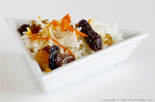 Basmati Rice Recipe with Picture