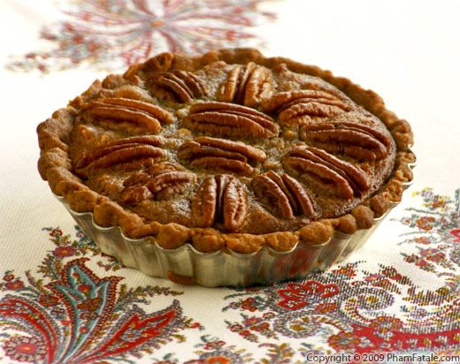 Nutella Pecan Pie with Picture