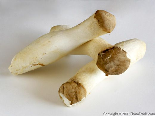 King Oyster Mushrooms with Picture