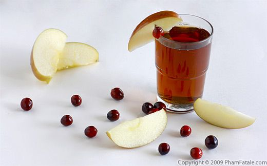 Cranberry Apple Cider Recipe with Picture