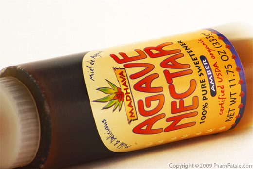 Agave Syrup Bottle