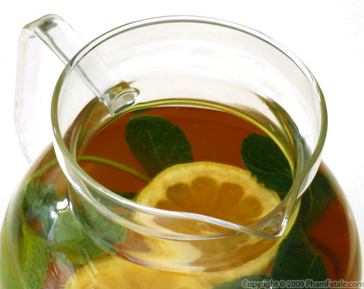Mint and Cardamom Flavored Arnold Palmer (Lemonade with Iced Tea) Recipe