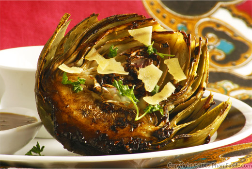 Pan Seared Artichoke with Balsamic Glaze Recipe