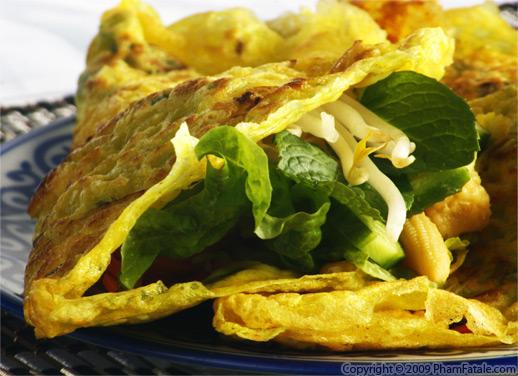 Tofu Banh Xeo (Vegetarian Vietnamese Crepe) Recipe