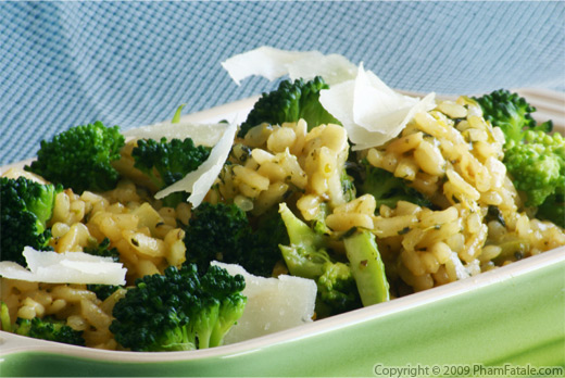 Vegetarian Broccoli Risotto Recipe