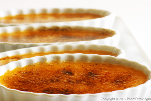 Butterscotch Creme Brulee Recipe