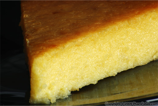 Cassava Coconut Vietnamese Cake (Banh Khoai Mi)