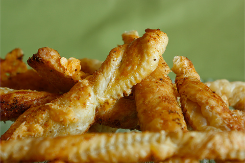 Parmesan Puff Pastry Cheese Twists