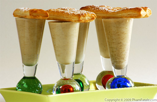 Chestnut Mousse Glasses