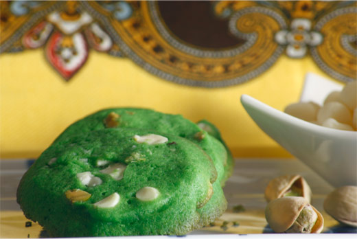 Pandan Cookies Recipe with Picture