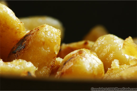 Gnocchi sauteed in an Indian Tomato Chutney