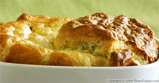 Gorgonzola Souffle Large