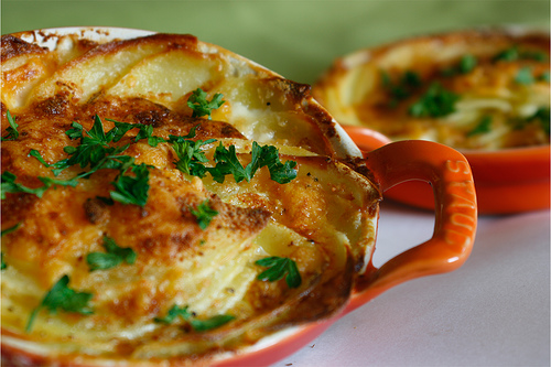 Scalloped Potatoes with Picture