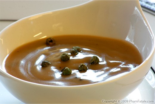 Green Peppercorn Truffle Sauce Recipe