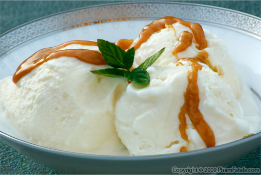 Crme Glace (Sweet Cream Glac) Recipe