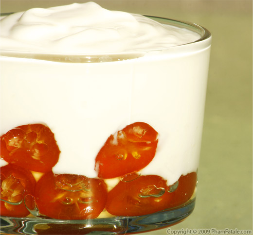 Kumquat Preserves with Yogurt