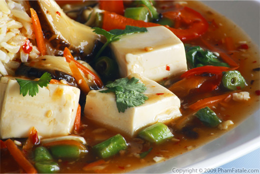 Vegetarian Ma-Po Tofu